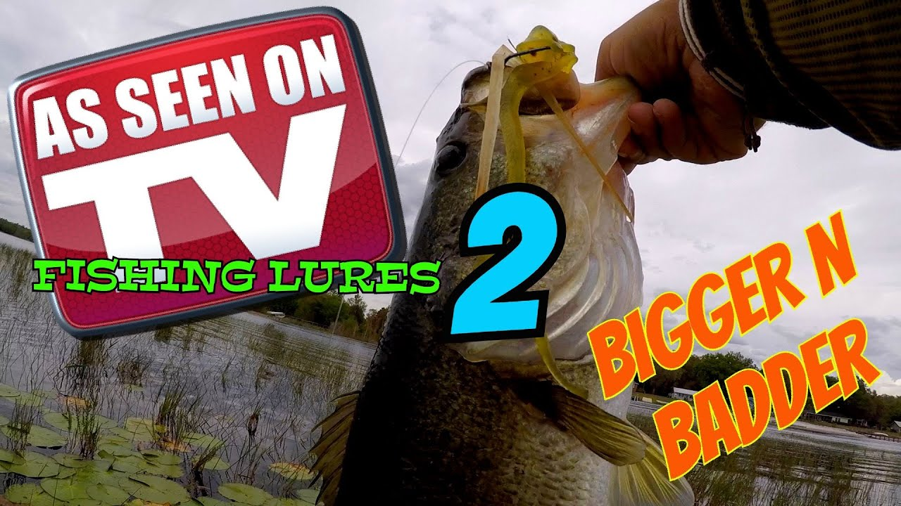 As seen on tv fishing lures part 2 fishing challenge for As seen on tv fishing lures