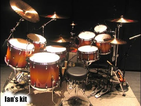 Deep Purple - Smoke on the Water - drums only. Isolated Ian Paice drum track.