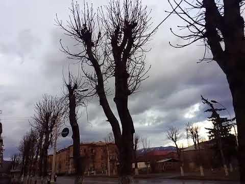 Аномальная погода в Армении, город Ванадзор/ Anomalous Weather In Armenia, Vanadzor /