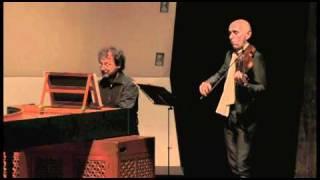 Rognoni:Vestiva i colli passeggiato for violin and instrument, Enrico Onofri