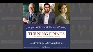 Turning Points: Joseph Stiglitz and Thomas Piketty in Dialogue