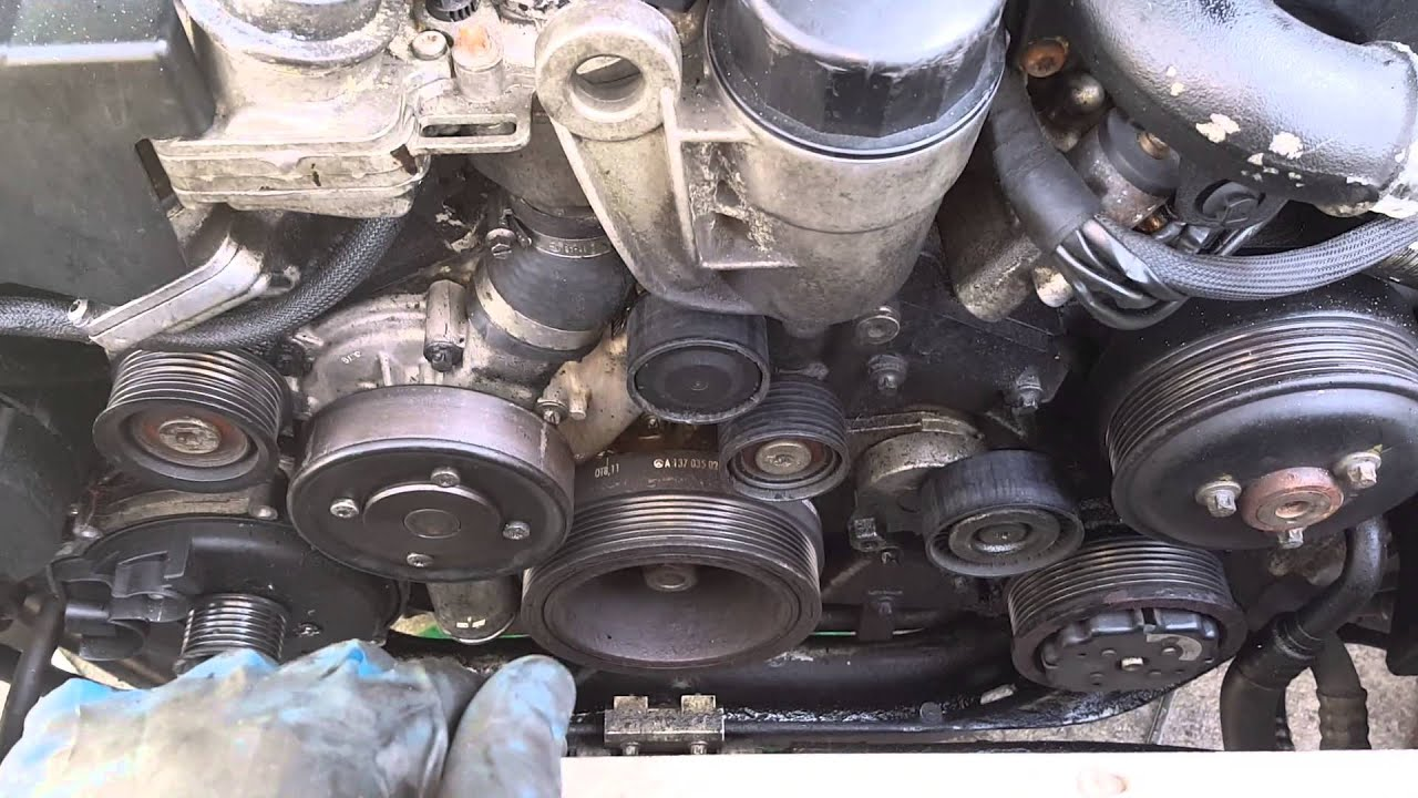 How To Replace An Alternator On A 2001 Mercedes Benz S600