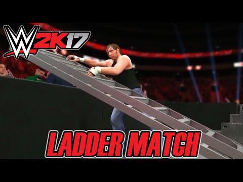 WWE 2K17 - Ladder Match Gameplay (Análise)