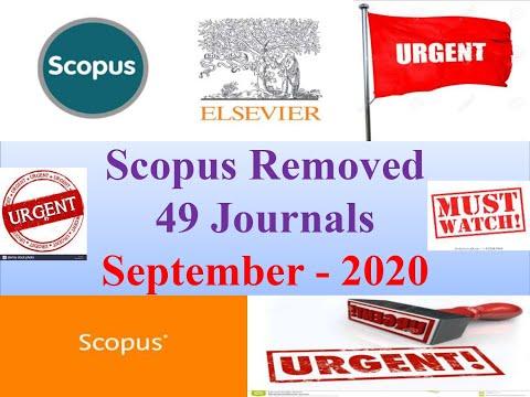 Scopus Removed Journals -September 2020