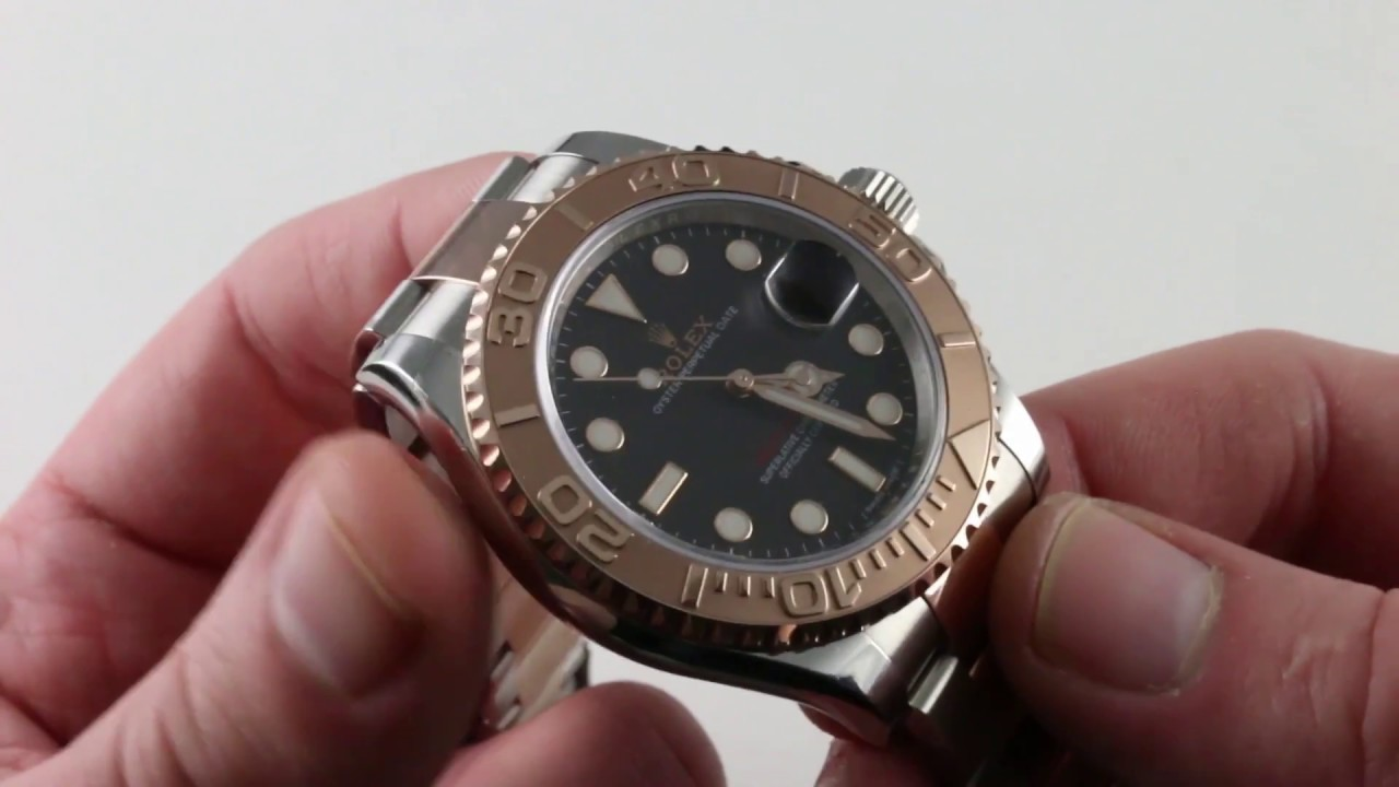 ec5c8036eece Pre-Owned Rolex Yacht-Master 116621 Luxury Watch Review - YouTube