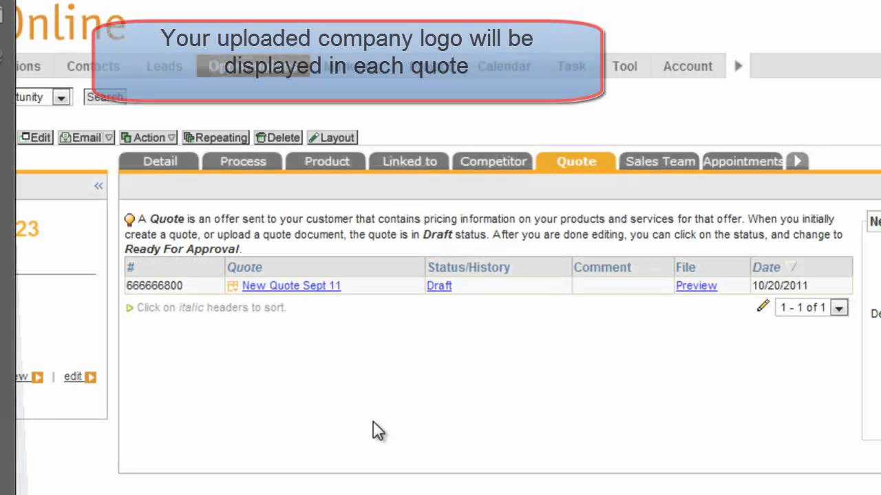 Create QuoteSend To Customer YouTube - How to send quotation email to customer