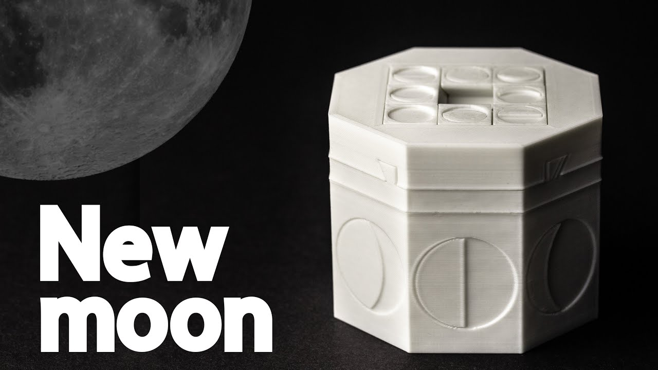 Solving the RAREST New Moon puzzle box
