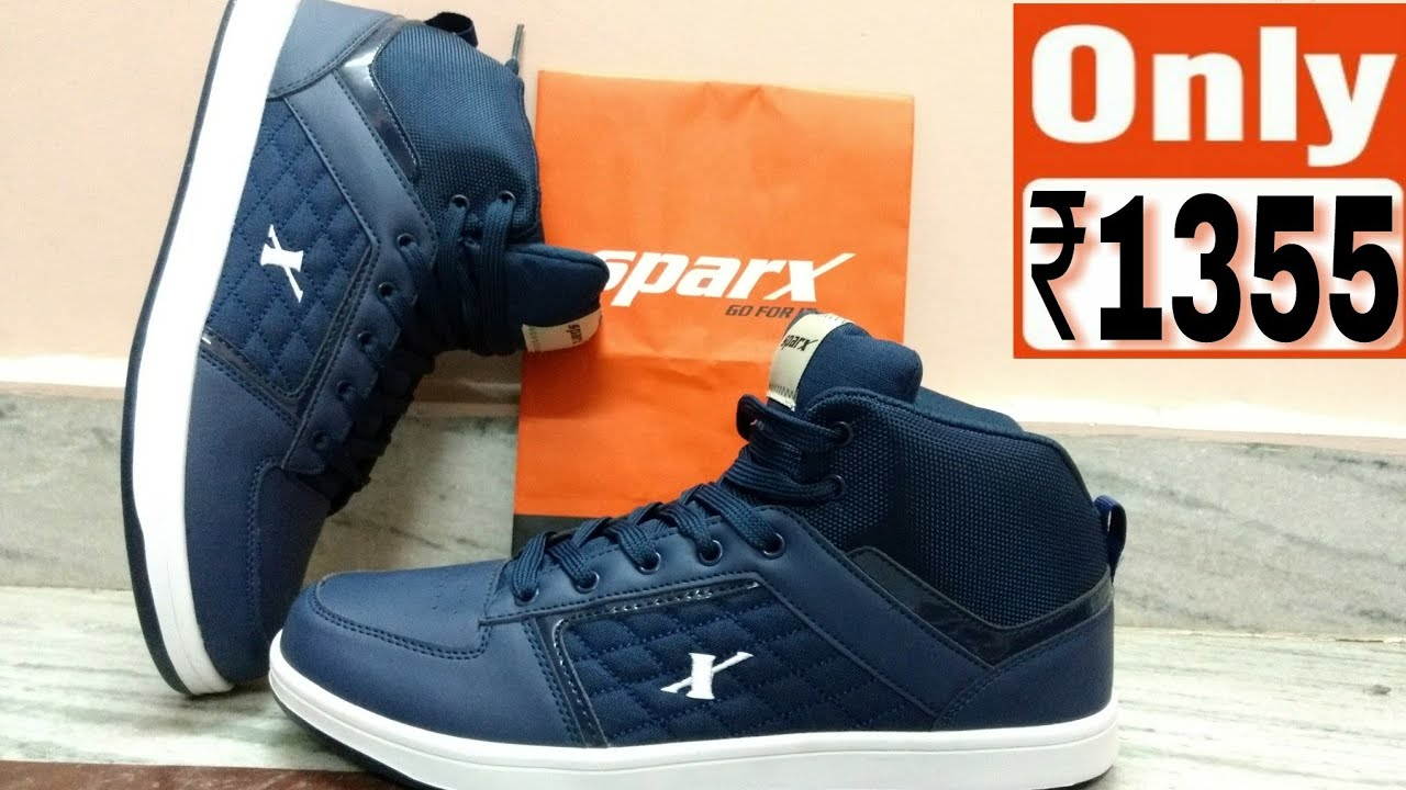 Sparx Men Navy Blue Sneakers (SM-250