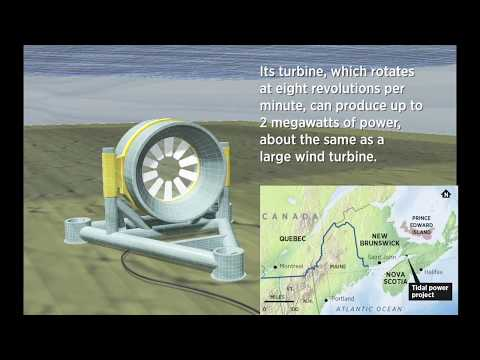 Generating Energy from the Tides