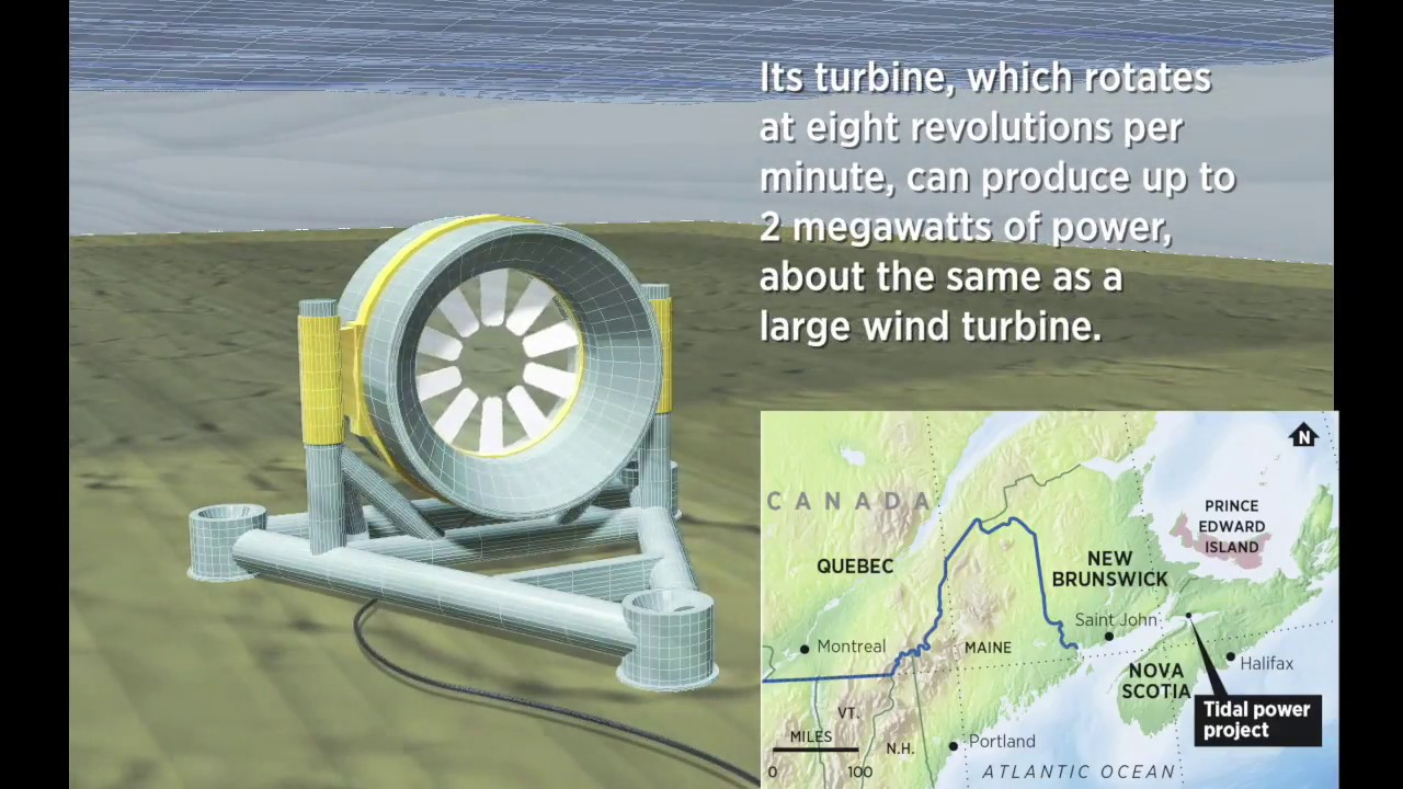 Can this giant turbine turn the tide for ocean energy?