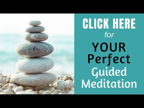 Feel at Peace ★ Release Stress, Anxiety, Worry Guided Meditation ★ Sleep Meditation