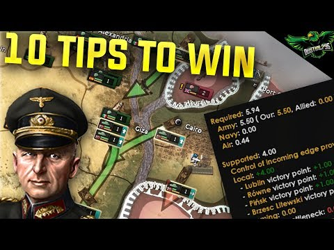HOI4 10 Tips on Winning Wars (Hearts of Iron 4 Man the Guns Guide)