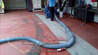 Wh Surface Preparation Shot Blasting Workshop Garage Floor