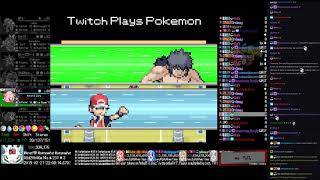 Twitch Plays Pokémon Anniversary Burning Red - Hour 213 to 214