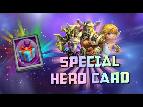 Castle Clash: Special Hero Card = Pumpkin Duke??!!