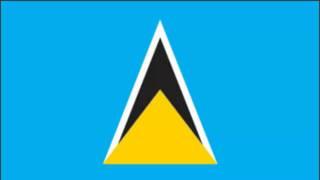 Saint Lucia Flag and Anthem