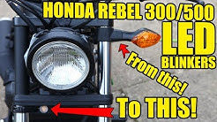 Honda Rebel Blinker