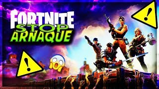 STOP ARNAQUE - FORTNITE SAUVER THE WORLD