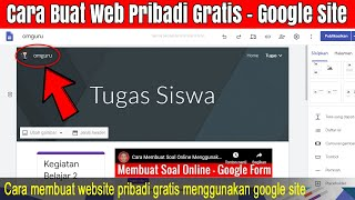 Tips Cara Membuat Situs Web Google Terbaru