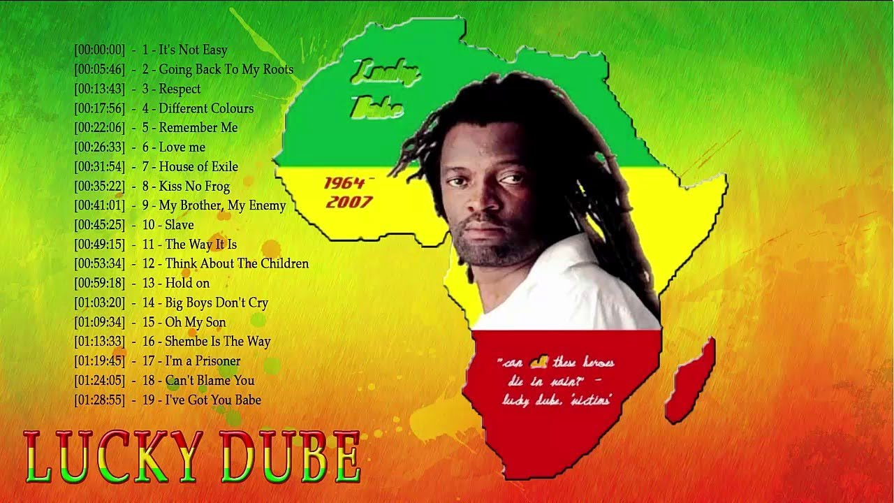 Download Lucky Dube Best of Greatest Hits (Remembering Lucky Dube) Mix