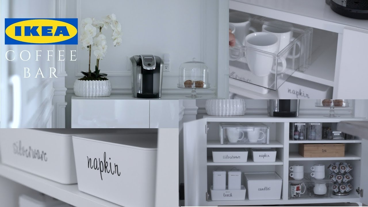 Home Coffee Bar Design Ideas: Decor + Organization - YouTube