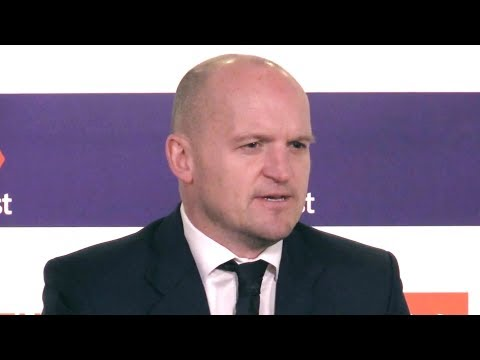 Wales v Scotland - Gregor Townsend Post Match Press Conference - Six Nations
