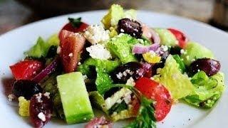 Салат греческий с сыром фета рецепт