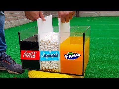 Experiment Coca Cola And Mentos