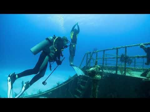 Wrecks near New Providence Island, Bahamas