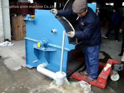 Wool Washing And Scouring Machine