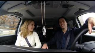 Matt Cullen Driving with his Family