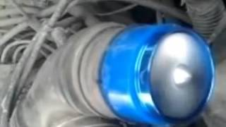 Инерционный турбо нагнетатель F1-Z (завихритель во впуск для автомобиля)