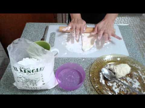 Cara buat kulit pangsit versi 1