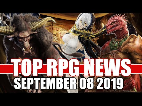 Top RPG News Of The Week - Sept 08 2019 (Code Vein, MHW Iceborne, Divinity Original Sin2)