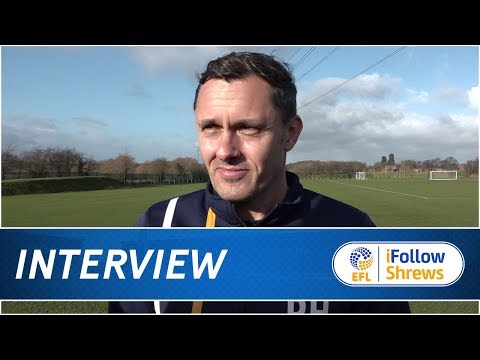 INTERVIEW | Paul Hurst Pre Bristol Rovers - Town TV