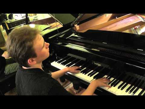 Rex Lewis Clack plays Rachmaninoff Prelude  in G Minor