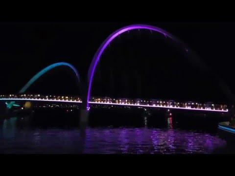 Perth - Elizabeth Quay at night
