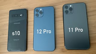 iPhone 12 Pro vs iPhone 11 Pro vs Samsung s10 Comparison and Camera Shoot out! Upgrade from 11 Pro?