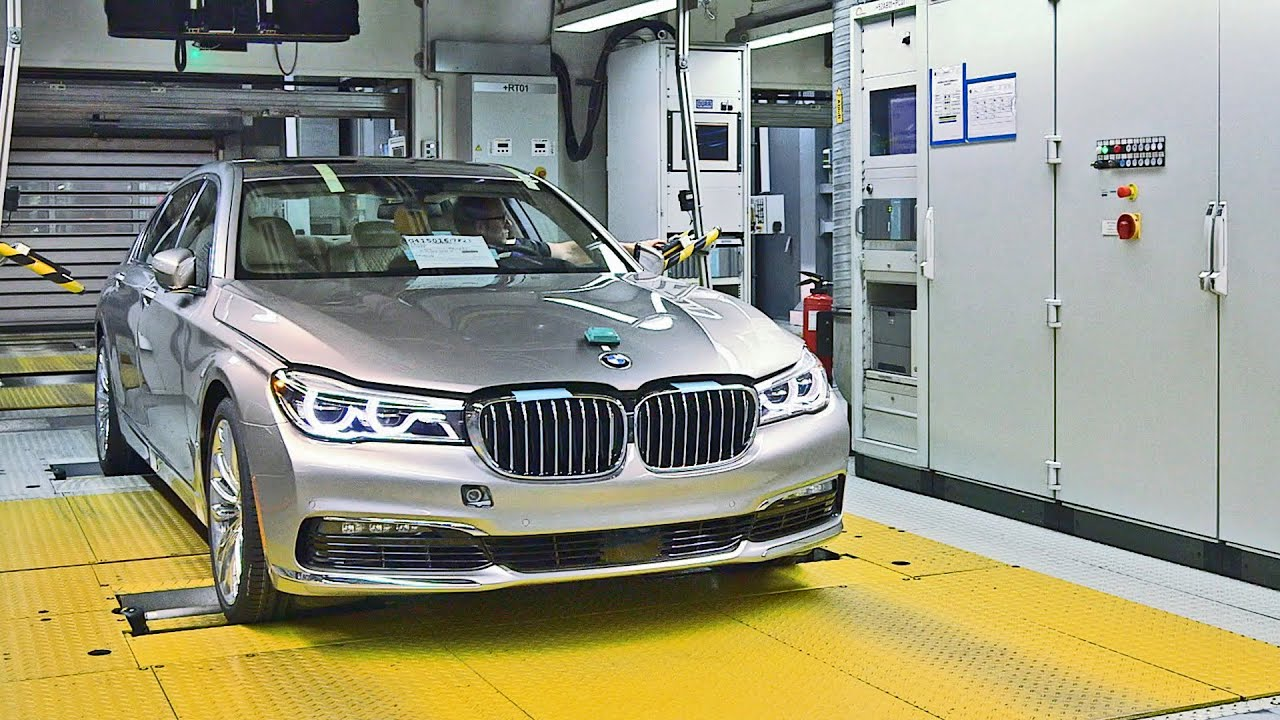 BMW 7 Series 2016 PRODUCTION