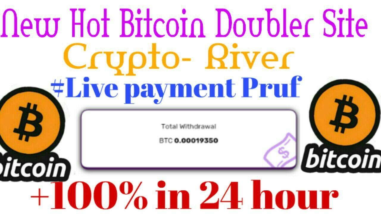 crypto-river new hot doubler site| live payment pruf| how  to make mony daily $20 || kousik official