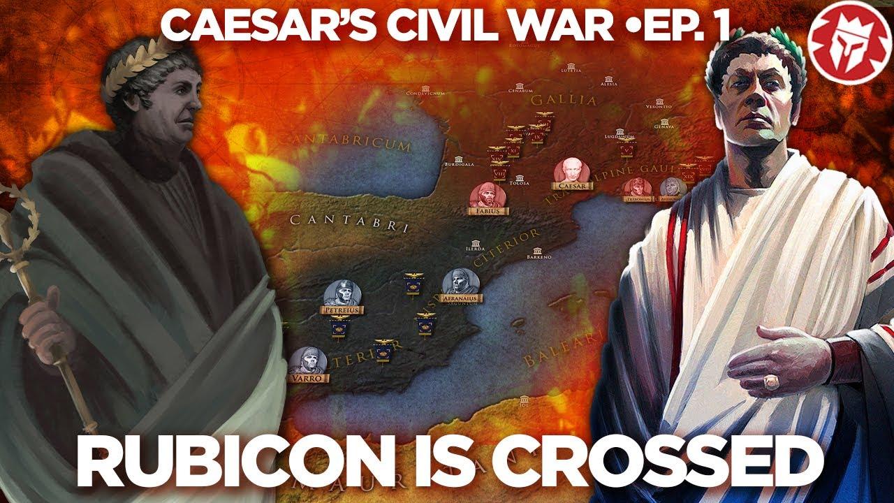 Download Caesar's Civil War: The War Begins 49BC DOCUMENTARY