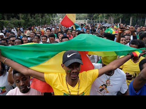 Several people killed in grenade attack at a rally for new Ethiopian PM