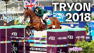 Great Britain vs. Ireland at Tryon 2018 | Eventing - Jumping Test | FEI World Equestrian Games™