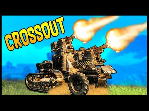 Crossout - DUAL MAMMOTH CANNON BUILD! - Let's Play Crossout Gameplay