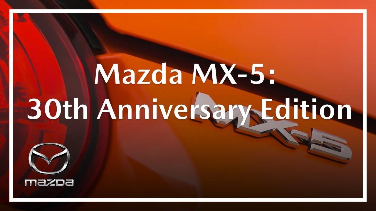 mx5 30th anniversary edition australia