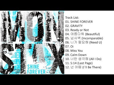 [Album] MONSTA X – SHINE FOREVER [Repackage]