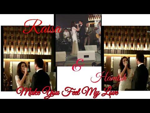 Raisa Nyanyi Lagu Adele - Make You Feel My Love Untuk Hamish Duad Di Resepsi Pernikahan