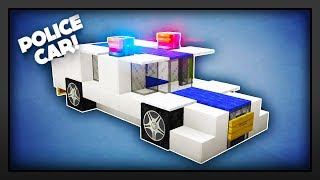 Minecraft - How To Make A Police Car
