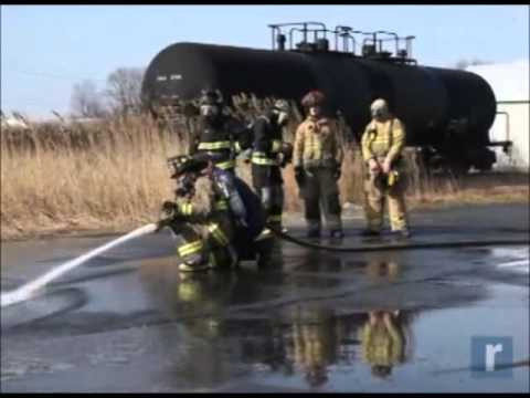 Orange-Ulster BOCES Students Get Training In Fighting Fires