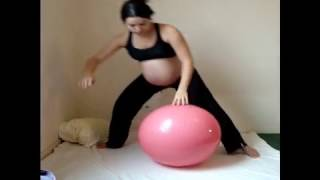 Gym ballon grossesse.wmv